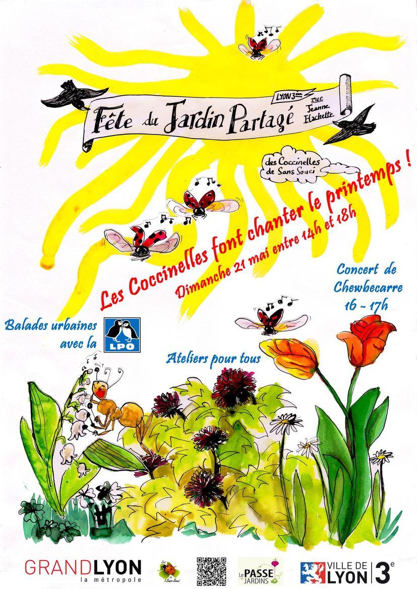 Coloriage Fete De Printemps.Fete Blog Des Coccinelles De Sans Souci